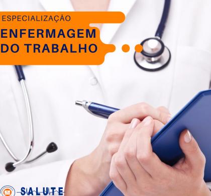 Especialização | Enfermagem do Trabalho |  VAGAS LIMITADAS !!!!!