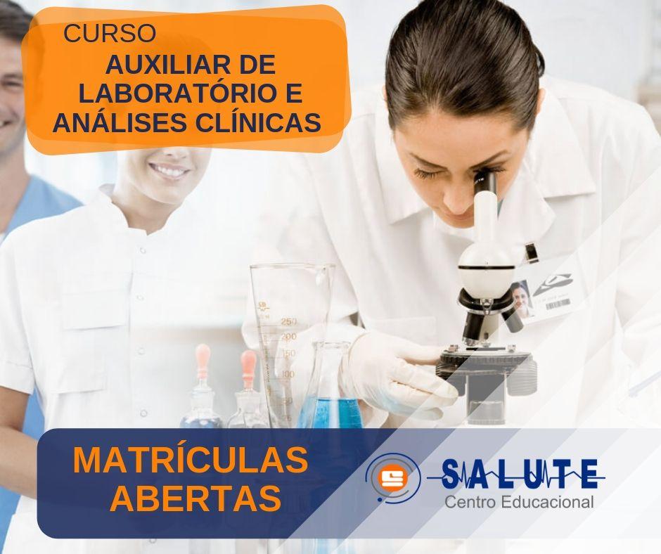 Auxiliar de Laboratório e Análises Clínicas
