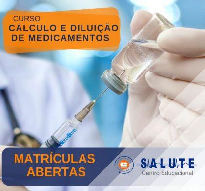 Cálculo e diluição de Medicamentos