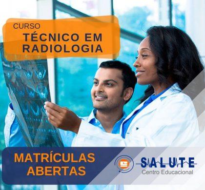 Curso Técnico em Radiologia – MATRÍCULAS ABERTAS!