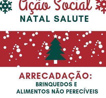 AÇÃO SOCIAL NATAL SALUTE