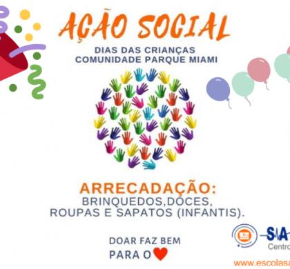 AÇÃO SOCIAL DIA DAS CRIANÇAS