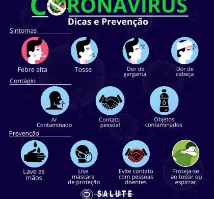 Coronavírus – Dicas e Prevenção!